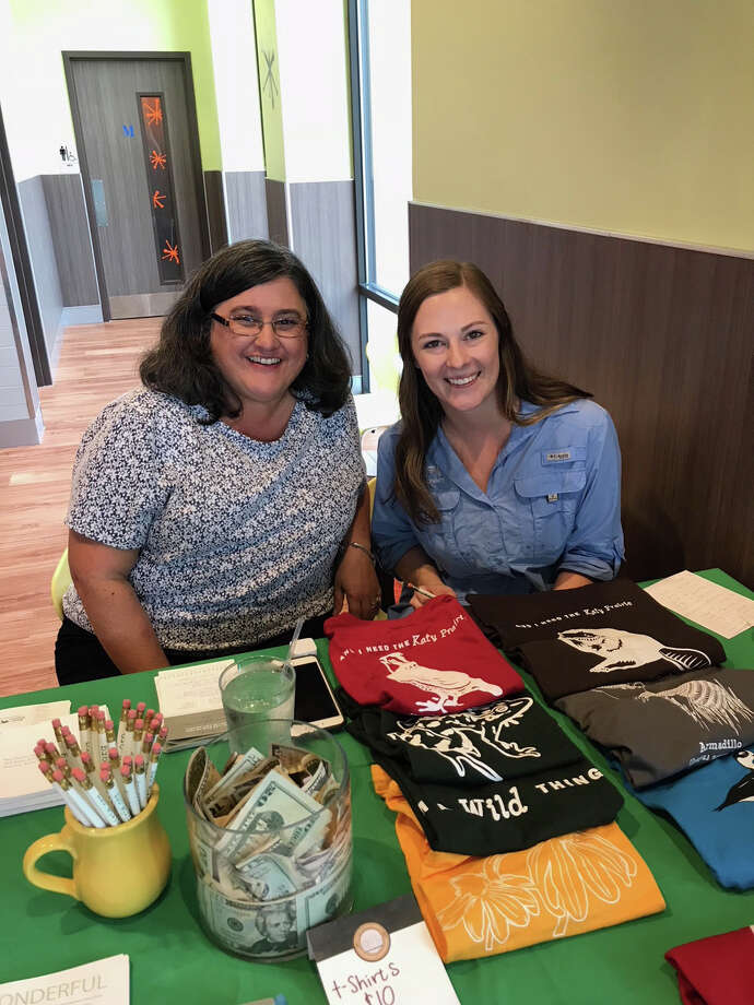 Diners got the chance to sample the goods at Snooze A.M. in Cinco Ranch on Oct. 21. KPC staff, from left, are Cynthia Cedeño and  Morgan Maples. Photo: Courtesy Photo