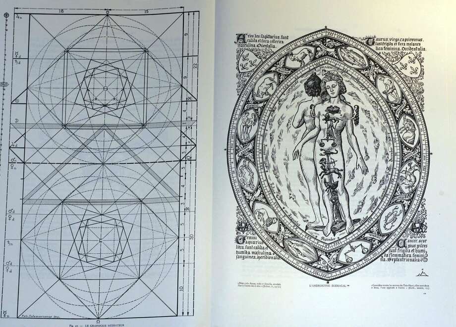 Californias new birth certificate heralds third gender intersex a rare book called nautral architecture shows a geometrical diagram at left and a zodiacal hermaphrodite yadclub Images