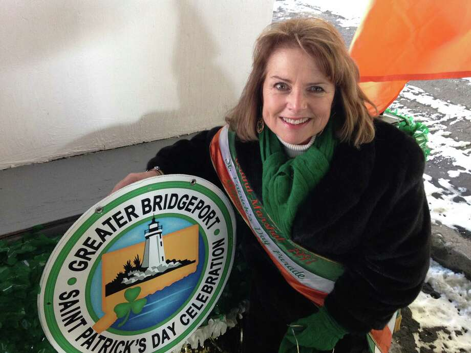 Former Bridgeport Mayor Leonard S. Paoletta and City Clerk Catherine Brannelly-Austin, pictured above, who started the Greater Bridgeport St. Patrick's Day Parade,  are scheduled to be honored by the parade's committee on Thursday, Nov. 9, 2017, in Bridgeport, Conn. Photo: Contributed Photo / Connecticut Post Contributed