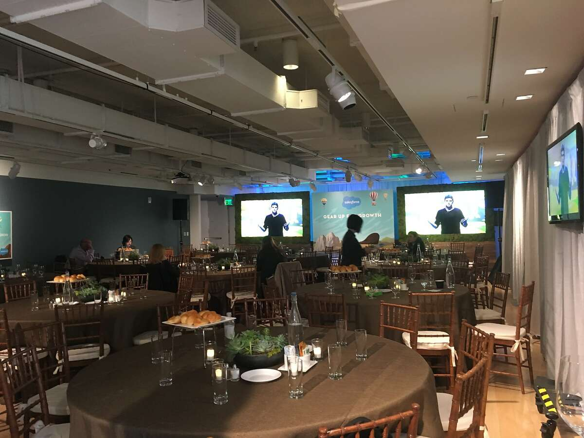 Salesforce rented out the The Museum of African Diaspora for its annual event Dreamforce.
