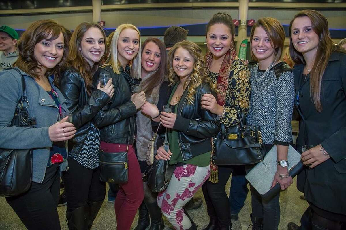 Friends get together at last year's Foxwoods on Tap.