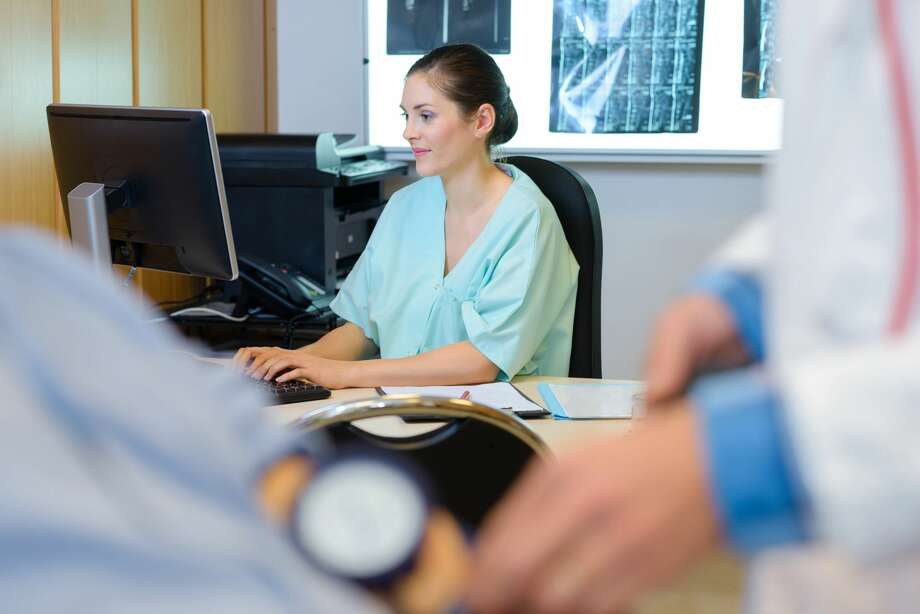 In 2017, women made up at least 83 percent of registered nurses and licensed practical nurses, according to data from the Kaiser Family Foundation. (Dreamstime/TNS) Photo: Dreamstime/TNS