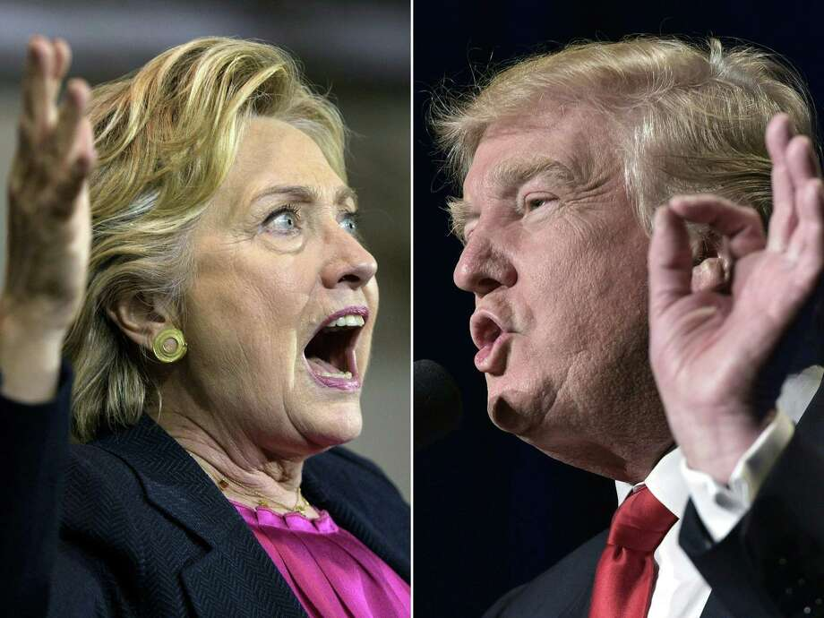 Here's a sign of the tumultuous times — and problems for both parties. The Washington Post-ABC News poll shows that if the Trump/Clinton presidential race were re-held today, it would be a tie. This, though Trump is suffering through pitiful approval ratings. Photo: BRENDAN SMIALOWSKI /AFP /Getty Images / AFP or licensors