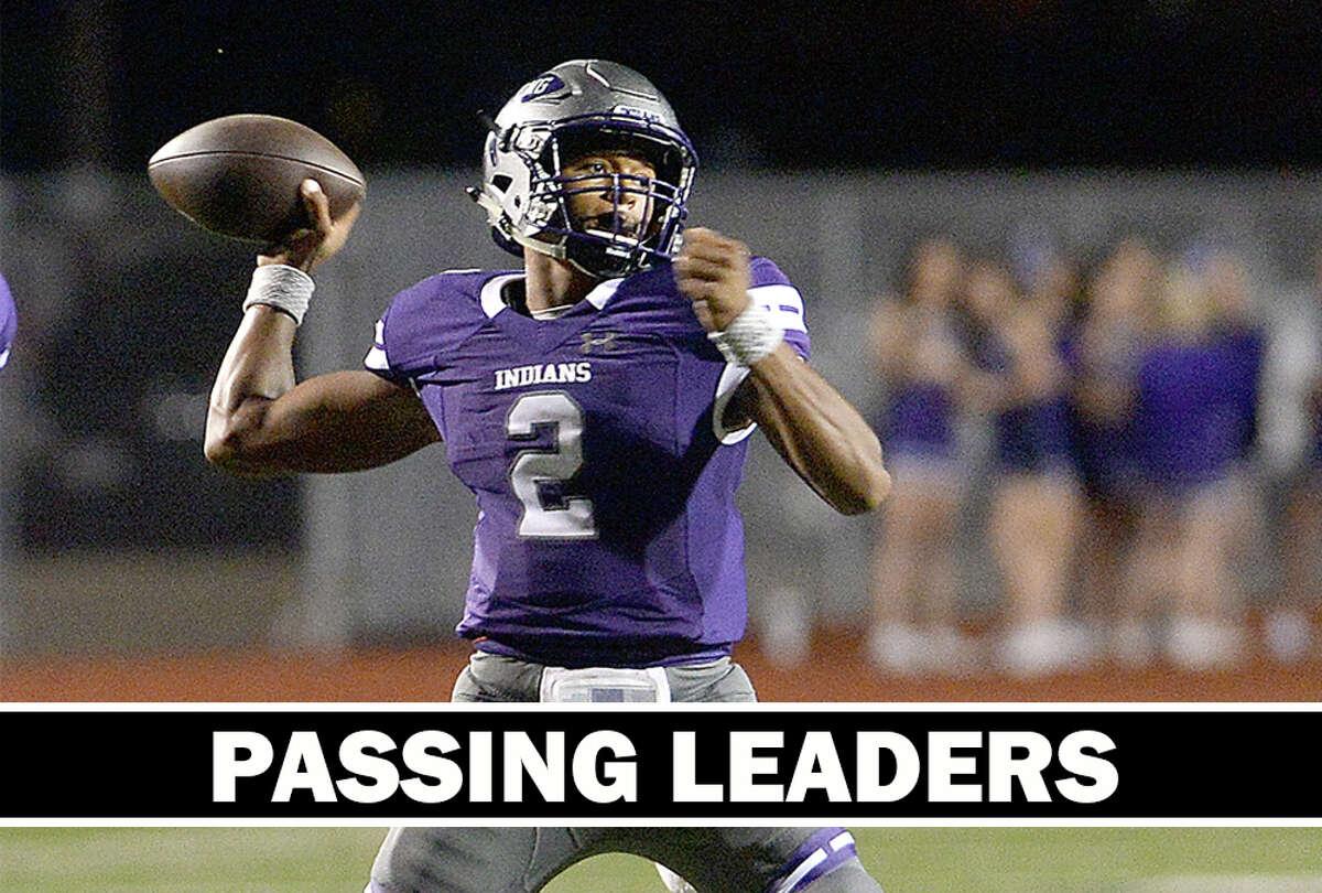 High School Football: Week 10 passing leaders.