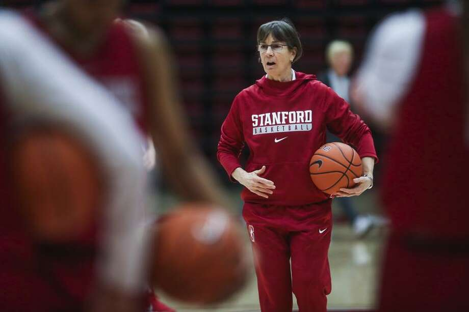 """""""This team went to the Final Four last year, and that's the level that we have to get to,"""" Stanford coach Tara VanDerveer said. Photo: Gabrielle Lurie / The Chronicle / ONLINE_YES"""