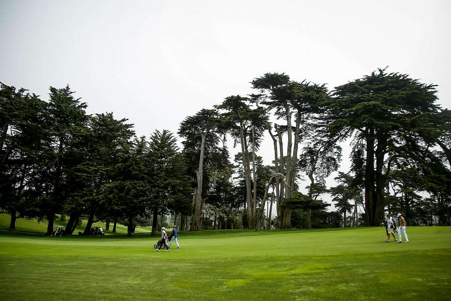 The Olympic Club hosted the California Amateur Championship in June. It gets the 2028 PGA Championship. Photo: Nicole Boliaux, The Chronicle