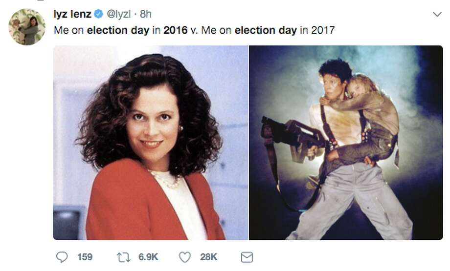 Twitter users reflected on the one-year anniversary of the 2016 election with memes. Photo: Twitter Screen Grab
