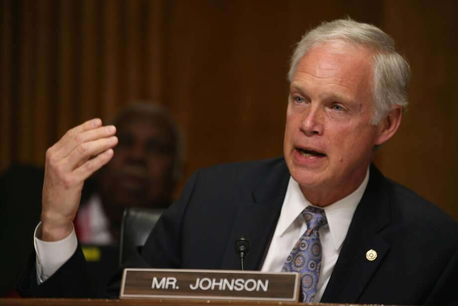 U.S. Sen. Ron Johnson (R-Wis.) has demanded that California and seven other states account for how they spent federal Medicaid expansion dollars. Photo: Mark Wilson, Getty Images