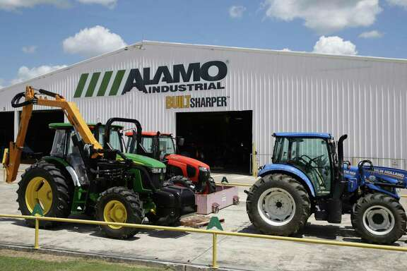 Alamo Group Manufacturing facility is shown in this 2017 photo. Alamo Group's longtime CEO, Ron Robinson, announced he would retire from the company in mid-2021.