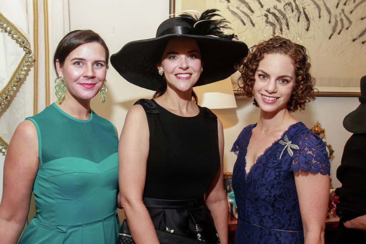 Molly Simpson, from left, Ann Ayre and Emily Schreiber at the Houston Symphony luncheon welcoming Steven Reineke, the new Principal POPS Conductor.