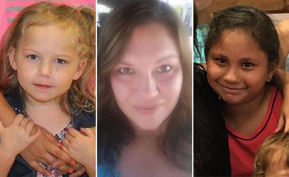Joann Ward died trying to shield her children from the shooter. Two of her children, Brooke Ward, left, and Emily Garza, right, also died in the shooting. Photo: Courtesy