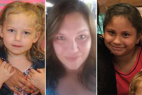 Joann Ward died trying to shield her children from the shooter. Two of her children, Brooke Ward, left, and Emily Garza, right, also died in the shooting.