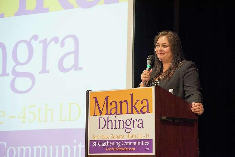Democrat Manka Dhingra captures 45th District seat in State Senate, puts Democrats in control of Legislature.  Photo: Lincoln Potter/Samaya LLC