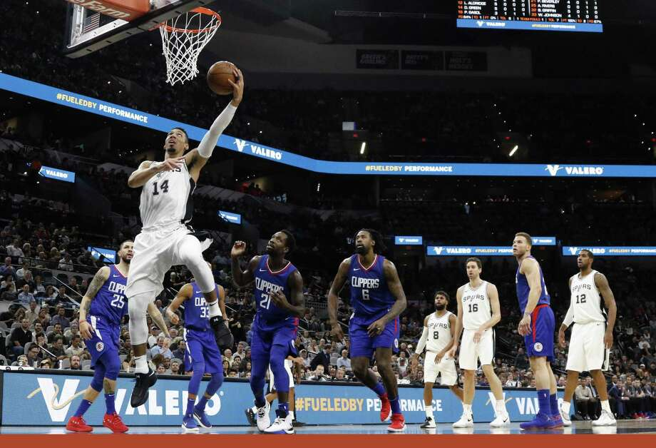 Danny Green comes in at No. 52 on the top 100 list. Photo: Ron Cortes /For The Express-News