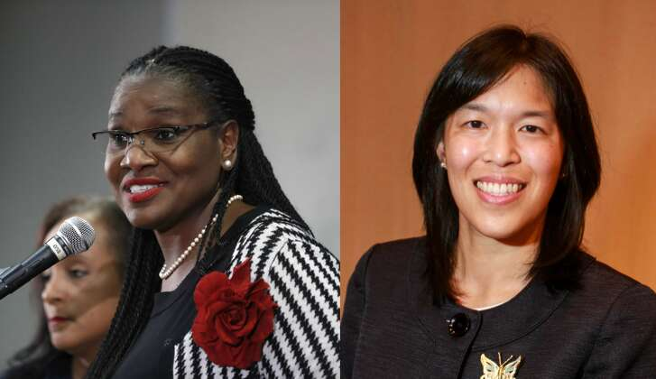 HoustonISD chairwoman Wanda Adams and Trustee Anne Sung won reelection to the board Tuesday night, while Trustee Holly Flynn Vilaseca was trying to avoid a runoff as final returns trickled in.