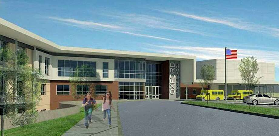 Oxford voters approved a referendum on Tuesday, Nov. 7, 2017 authorizing construction of a new middle school. Photo: Oxford School Building Committee