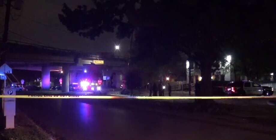 A man was killed late Tuesday after gunfire near a Midtown homeless encampment. (Metro Video) Photo: Metro Video