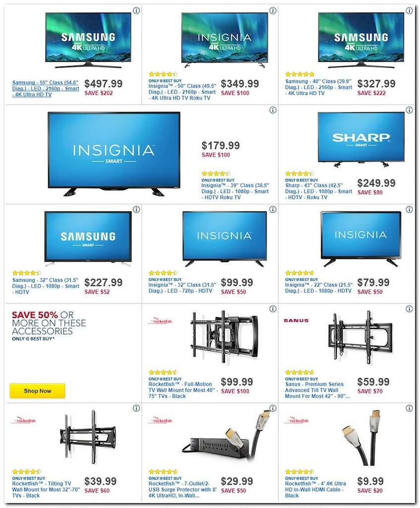 Best Buy released their 2017 Black Friday ad and over the circular's 50 pages are some of the hottest electronics deals of the year. Photo: Best Buy