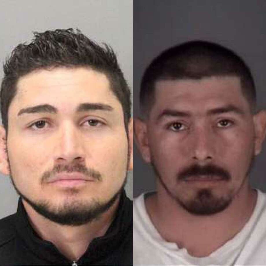 Raul Torres Madriz (left), 27, and Edgar Ramos Sanchez (right), 29, both of San Jose, were arrested Friday for a double murder in San Jose, police said.