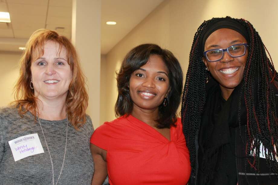 Were you Seen at the Women@Work breakfast event with Nathaalie Carey, CFO of the NYS Department of Labor, at the Times Union in Albany on Wednesday, November 8, 2017? Not a member of Women@Work yet?Click here to join today. Photo: Julie Azadian