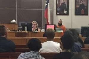 Blake Jefferson, 23, appears in court.