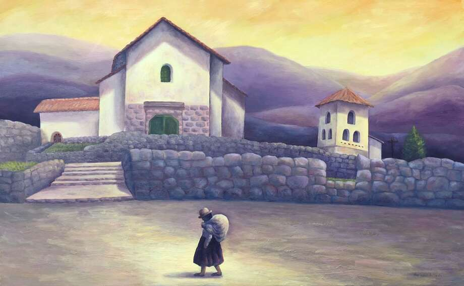 """The Loft Gallery at The Smithy Store in New Preston is presenting an exhibit of paintings and drawings, """"Here and There,"""" through Nov. 12, will feature works by Peruvian artist Marisabel Artieda. For more information, call The Smithy Store at 10 Main St. at 860-868-9003. Photo: Courtesy Of The Loft Gallery / The News-Times Contributed"""