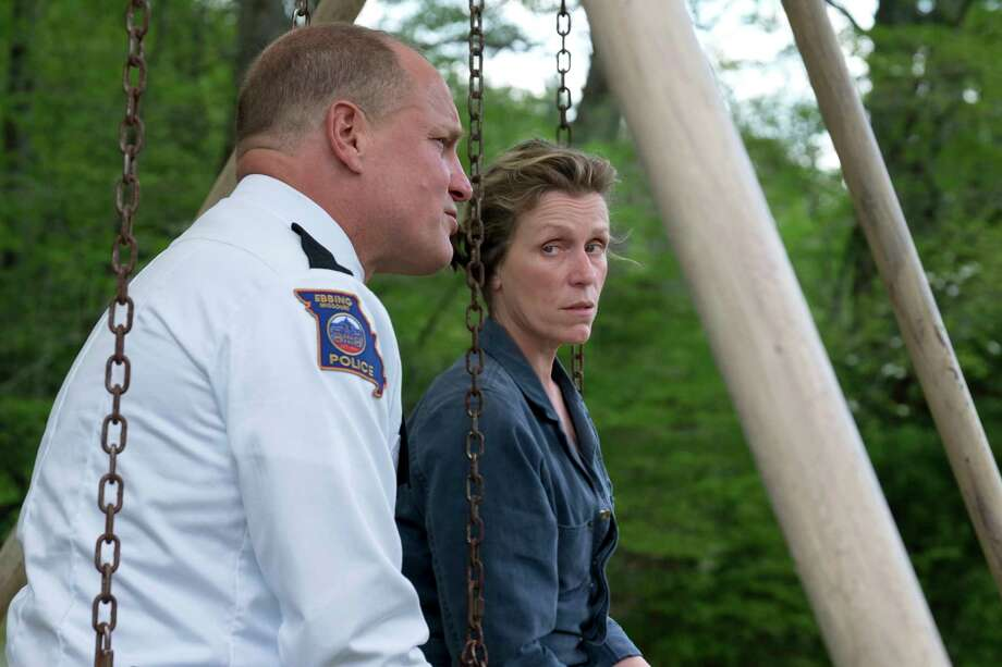 """Three Billboards Outside Ebbing, Missouri""Playwright and filmmaker Martin McDonagh (""In Bruges"") directs and Frances McDormand stars as a woman who takes unorthodox steps to get local law enforcement to solve her daughter's murder.7 p.m. Friday, Museum of Fine Arts, Houston Photo: HONS / Fox Searchlight"