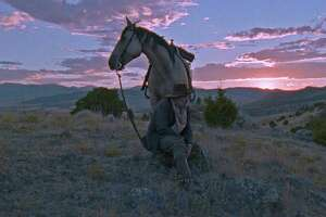 "Bill Pullman as the titular cowboy in ""The Ballad of Lefty Brown."""