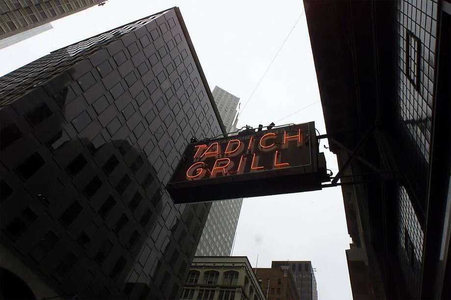 Tadich Grill on California Street Photo: LIZ HAFALIA, SAN FRANCISCO CHRONICLE