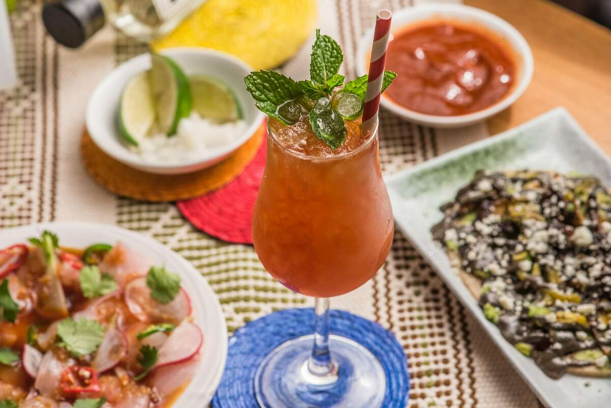 The Vincente cocktail at Lagrimas