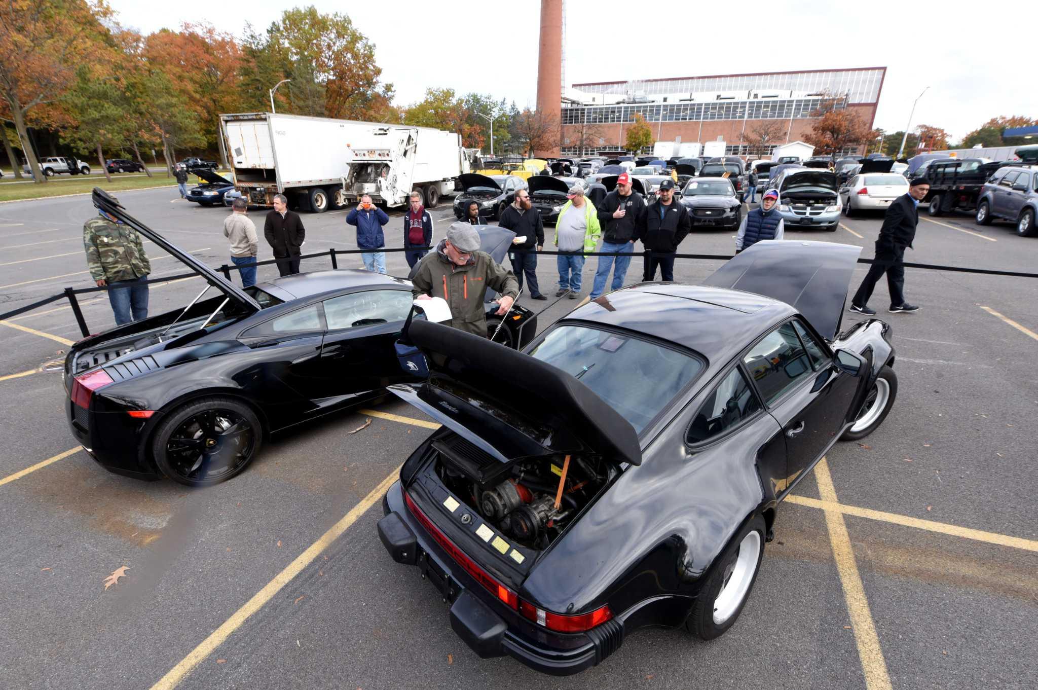 State Auctions Off Lamborghini Porsche Bmw Times Union