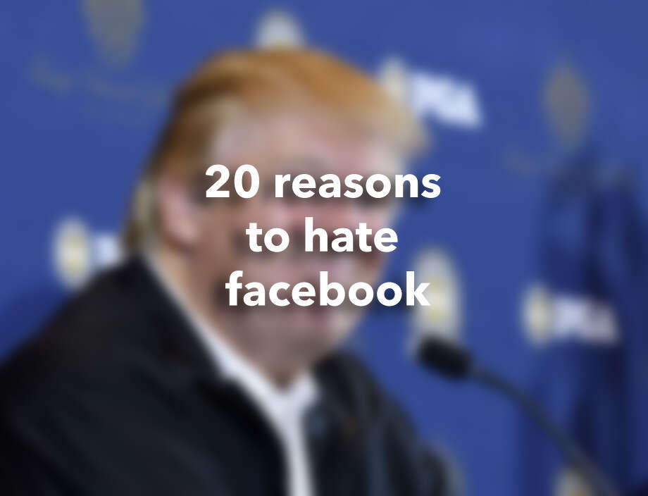 20 reasons to hate facebook Photo: Kevork Djansezian/Getty Images