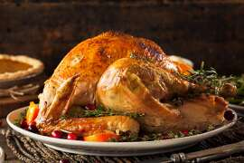 A 15-pound turkey should be enough for 10 people. If your guests prefer more breast meat, buy a larger turkey. They generally have more breast meat. (Dreamstime/TNS)