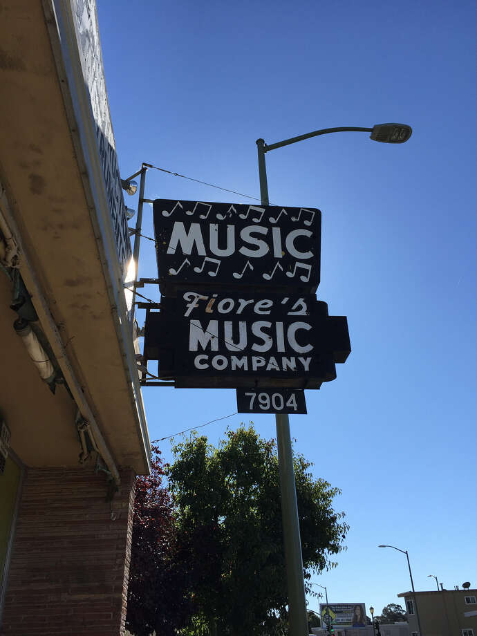 Fiore's Music Company closed after more than 70 years in East Oakland. The shop's wares were sold off last weekend. Photo: Courtesy: Rick Hudson Estate Liquidation