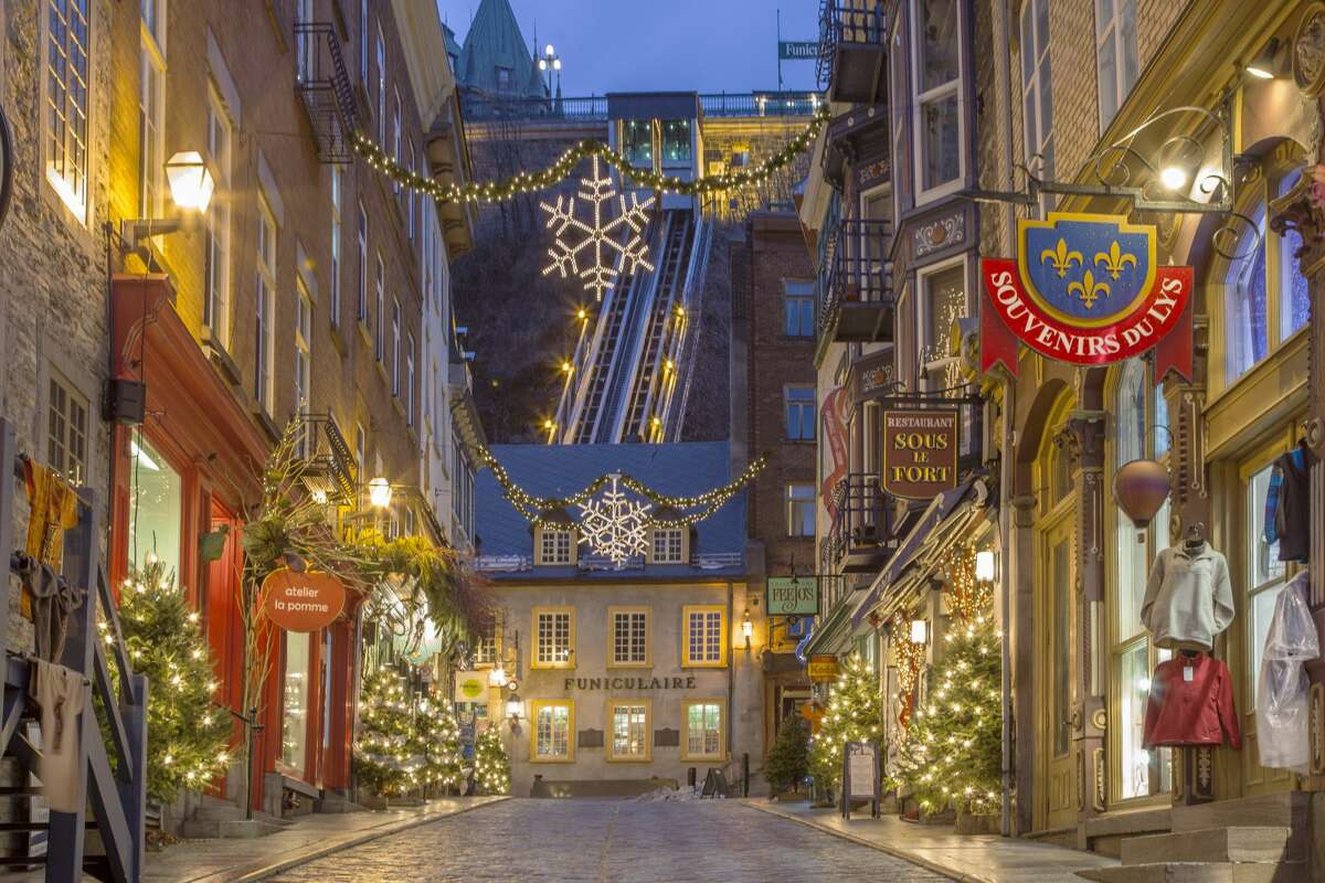 QUEBEC CITY, CANADA Must see: Old Quebec