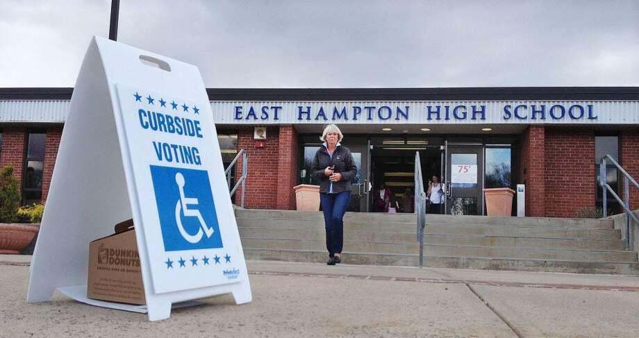 East Hampton High School Photo: File Photo