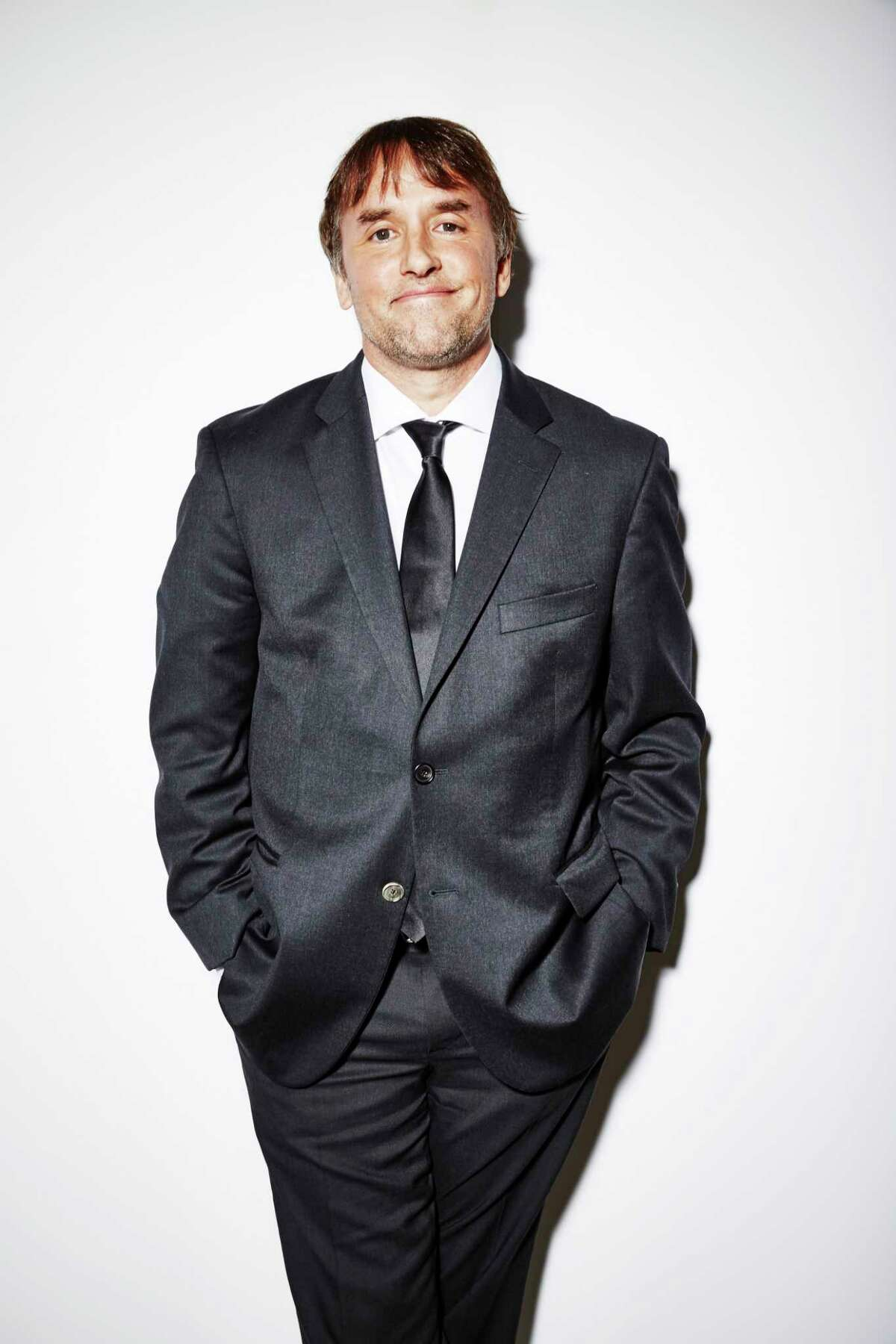 Director Richard Linklater poses for a portrait at the 17th Costume Designers Guild Awards on February 24, 2015 in Beverly Hills, California.