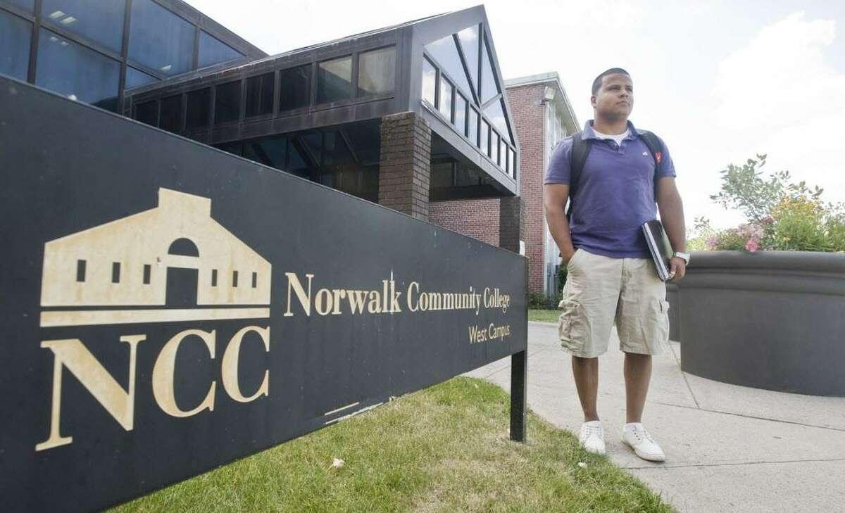 Christian Chaparro of Norwalk attends Norwalk Community College.