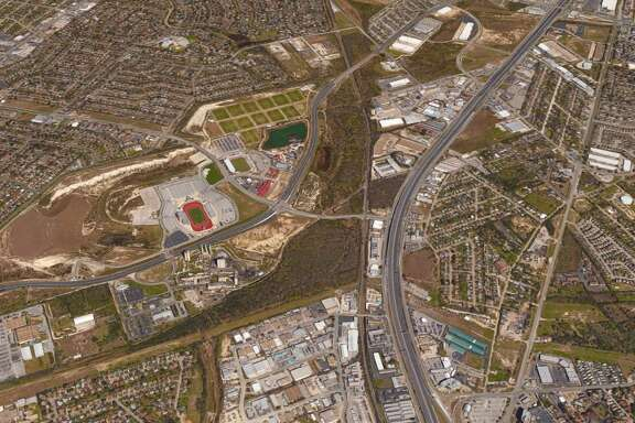Local developer Bitterblue has bought nearly 100 acres of vacant land across the highway from Morgan's Wonderland and Toyota Field.