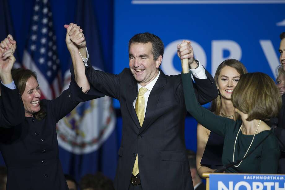 Democrat Ralph Northam's victory in Virginia's gubernatorial race Tuesday is viewed by members of his party as a sign that they will log more wins in next year's midterm elections. Photo: Cliff Owen, Associated Press