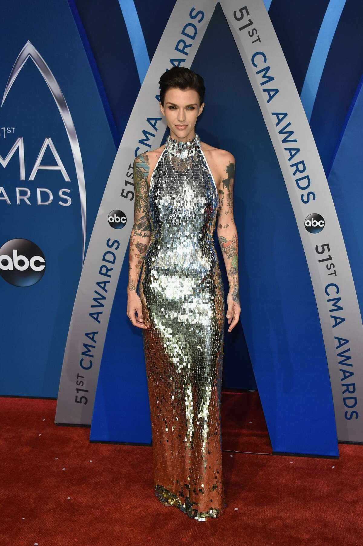 Worst: Close your eyes. The disco ball aka Ruby Rose, has arrived.
