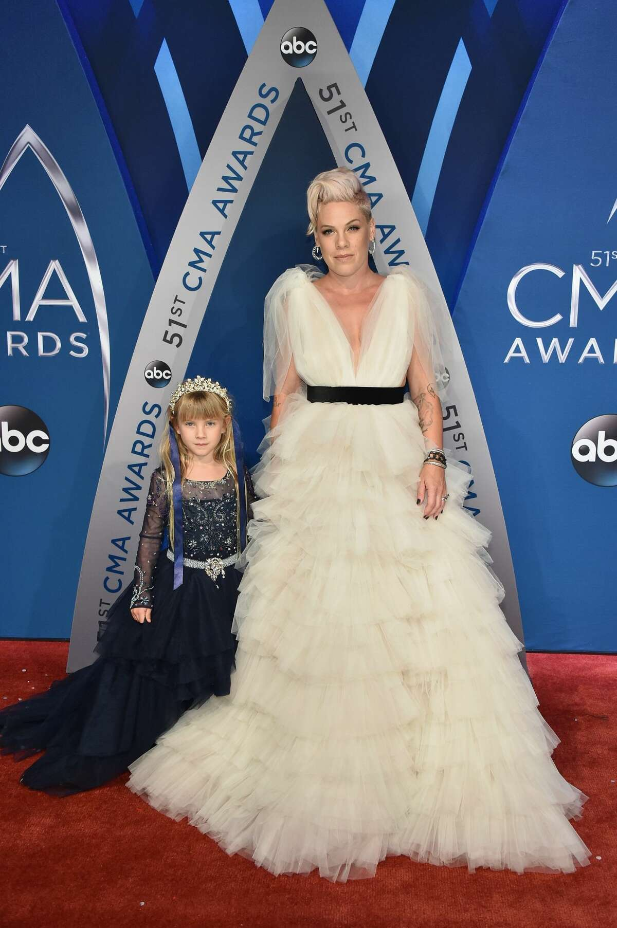 Best: Pink and her daughter Willow are too dreamy for words.