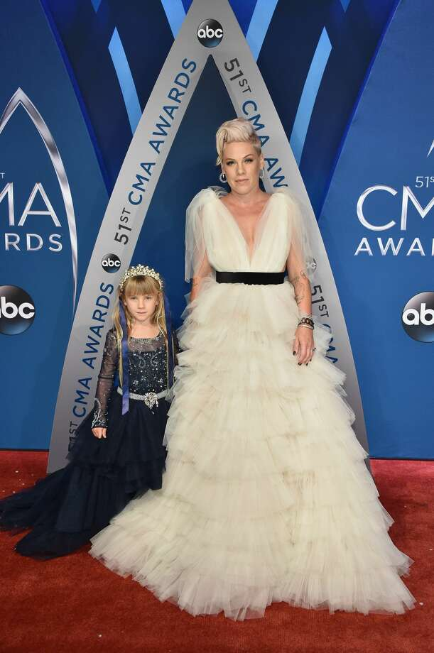 Best: Pink and her daughter Willow are too dreamy for words.  Photo: John Shearer/WireImage