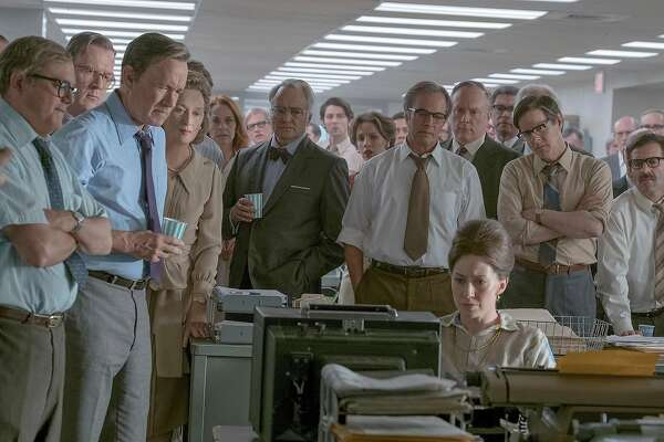 "Directed by Steven Spielberg, ""The Post"" stars Meryl Streep and Tom Hanks, and tells the story of The Washington Post's handling of the Pentagon Papers. MUST CREDIT: Twentieth Century Fox"