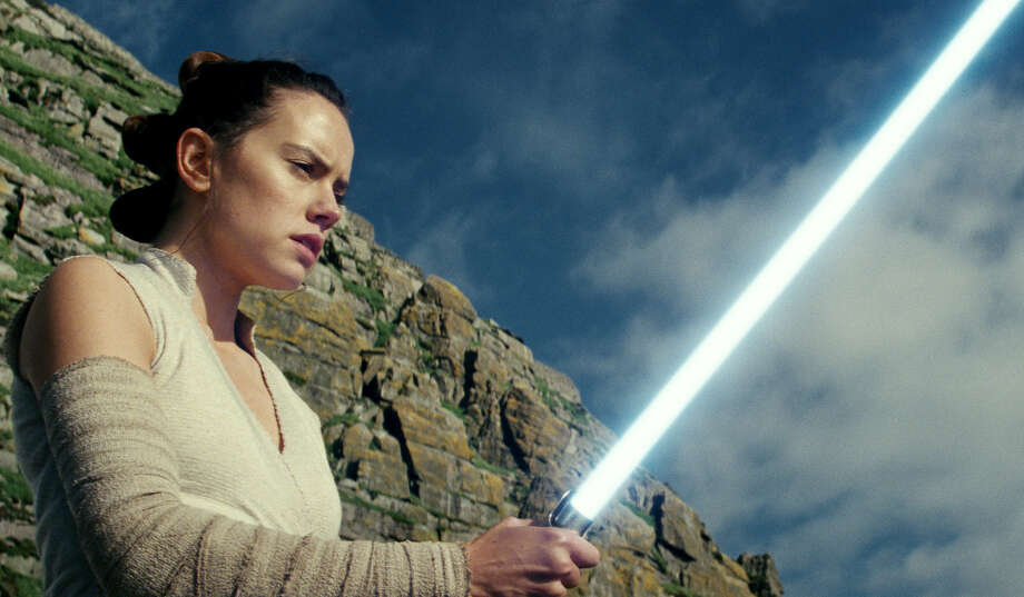 """""""Star Wars: The Last Jedi"""" begins where """"The Force Awakens"""" left off, with Rey (Daisy Ridley) having tracked down Luke Skywalker. Photo: Walt Disney Pictures / Copyright: 2016 Lucasfilm Ltd. &™, All Rights Reserved. © 2017 Lucasfilm Ltd."""