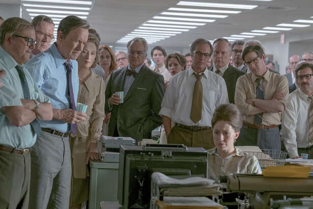 "Directed by Steven Spielberg, ""The Post"" stars Meryl Streep and Tom Hanks, and tells the story of The Washington Post's handling of the Pentagon Papers."