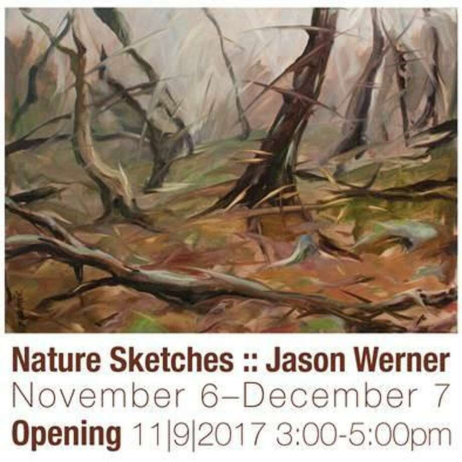 Nature Sketches :: Jason Werner will be exhibited in The Gallery at Northwestern Connecticut Community College, located in Founders Hall on its campus in Winsted. Photo: Contributed Photo/Not For Resale