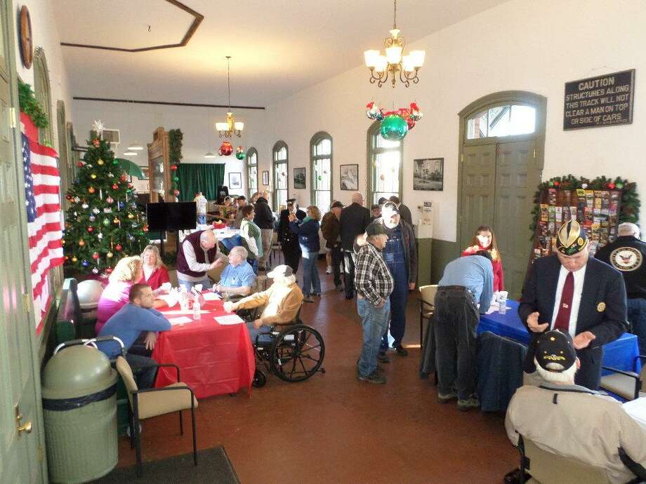 The New England Railroad Museum will hold a tribute to veterans on Saturday, Veterans Day, in Thomaston. Photo: Contributed Photo/Not For Resale / Copyright 2012