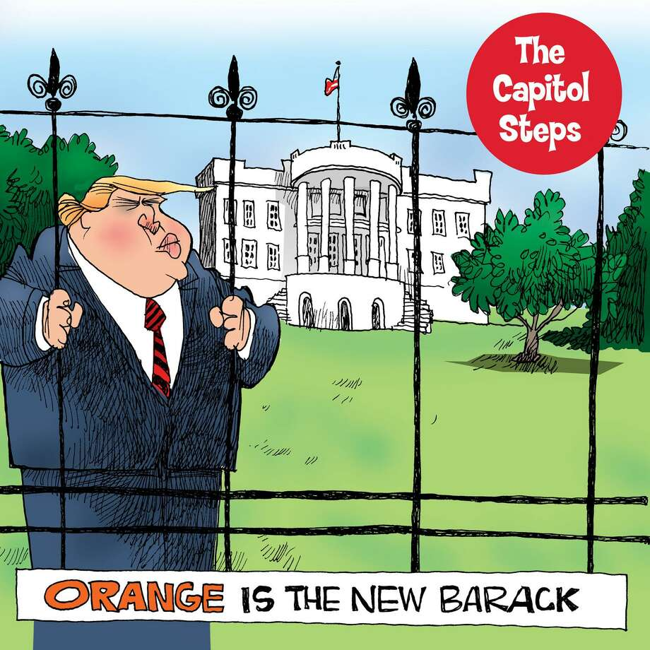 "Capitol Steps returns to the Warner Theatre with ""Orange is the New Barack"" on April 21. Photo: Contributed Photo /Not For Resale"