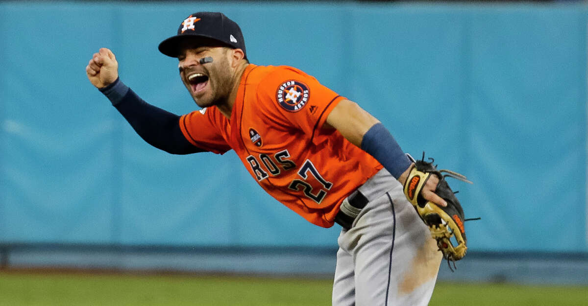 2. In 2017, Altuve became the first Astros player ever to win the Hank Aaron Award. he finished the season with 204 hits, 24 homers and 81 RBI.